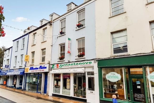 Thumbnail Restaurant/cafe for sale in High Street, Ilfracombe, Devon