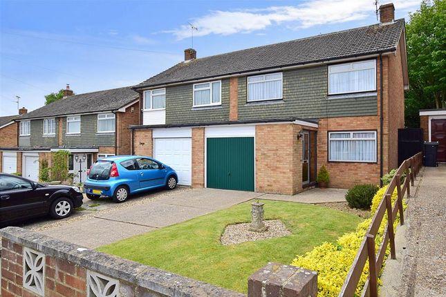 Thumbnail Semi-detached house for sale in Highfield Road, Willesborough, Ashford, Kent