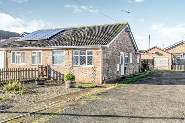 Thumbnail Semi-detached bungalow for sale in Norman Way, Irchester, Wellingborough