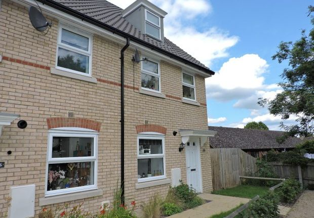 Thumbnail Terraced house for sale in 188 Dobede Way, Soham