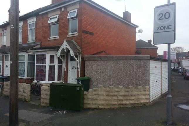 Thumbnail End terrace house for sale in Parkes Street, Smethwick