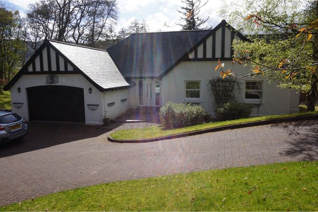 Thumbnail Detached bungalow for sale in Strathview Gardens, Pitlochry