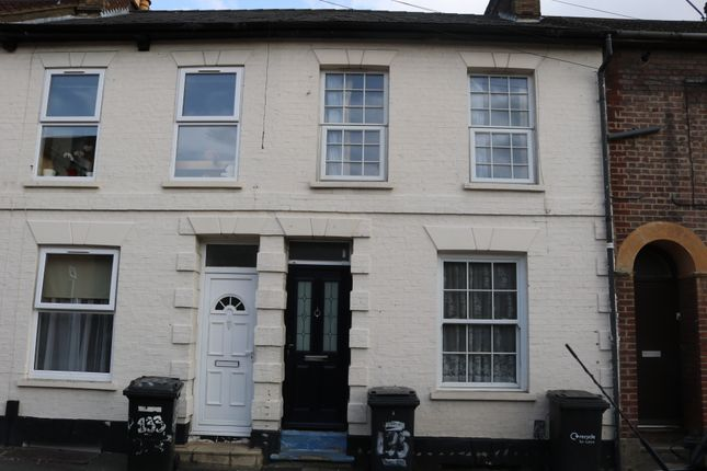 Thumbnail Terraced house to rent in Wellington Street, Luton