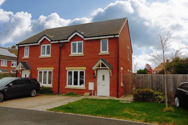 Thumbnail Semi-detached house for sale in Holly Close, Bretforton