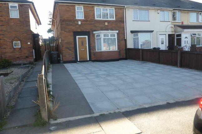 Thumbnail End terrace house for sale in Bordesley Green East, Bordesley Green, Birmingham
