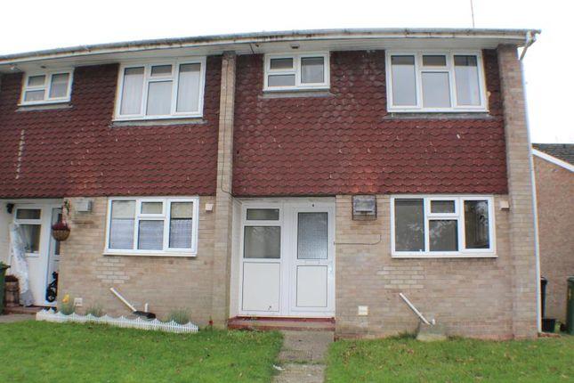 Thumbnail End terrace house to rent in Lamerton Close, Bordon