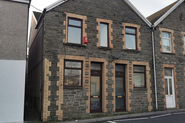 Semi-detached house to rent in Commercial St, Gilfach