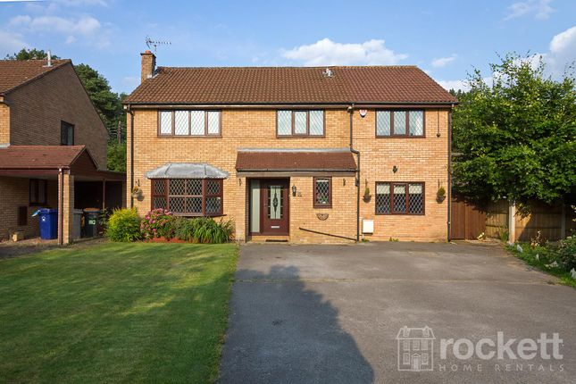 Thumbnail Detached house to rent in Long Meadow, Clayton, Newcastle-Under-Lyme