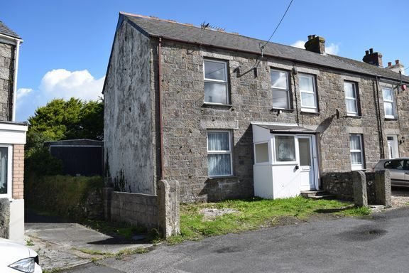 Thumbnail End terrace house for sale in Condurrow Road, Beacon, Camborne