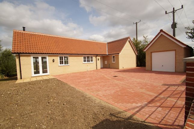 Thumbnail Detached bungalow for sale in Mill Road, Peasenhall, Saxmundham