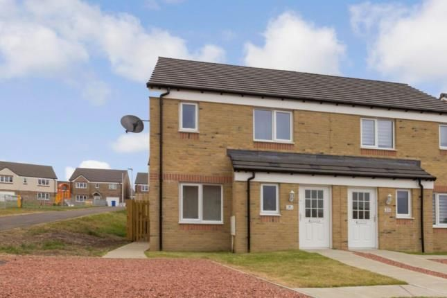 Thumbnail Semi-detached house for sale in Crichton Walk, Carluke, South Lanarkshire