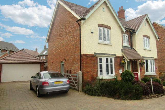 Thumbnail Detached house for sale in Summerfield Drive, Anstey, Leicester
