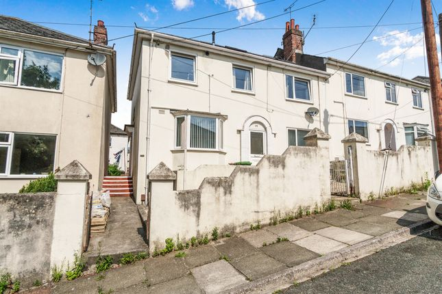 Thumbnail Maisonette for sale in Moorfield Avenue, Eggbuckland, Plymouth