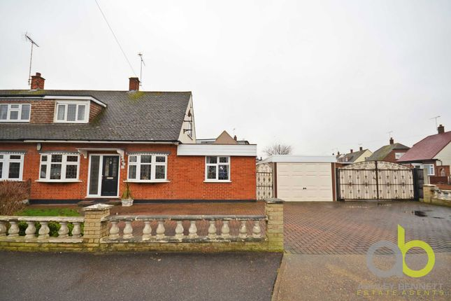 Thumbnail Semi-detached house for sale in Saxon Way, Benfleet