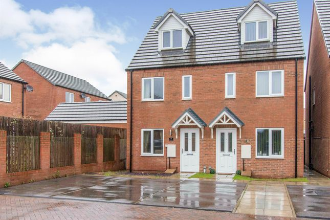 Thumbnail Town house for sale in Stayers Road, Bessacarr, Doncaster