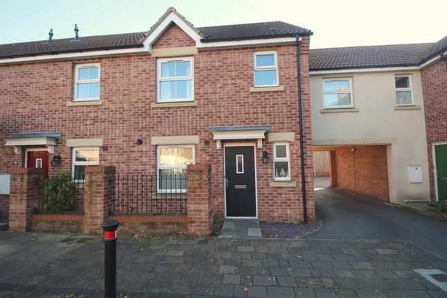 Thumbnail End terrace house for sale in Scotsman Drive, Scawthorpe, Doncaster