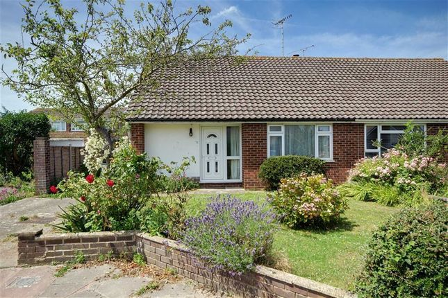 Thumbnail Semi-detached bungalow for sale in Ainsdale Close, Durrington, Worthing, West Sussex