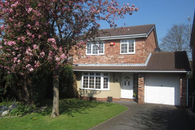 Thumbnail Detached house to rent in Bentley Drive, Crewe