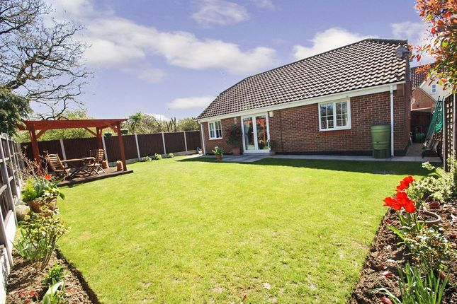 Thumbnail Detached bungalow for sale in Polstead Close, Rayleigh