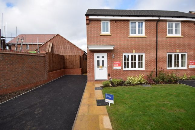 Thumbnail Semi-detached house to rent in Dudley Drive, Littleover, Derby