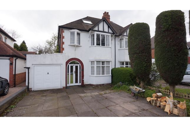 Thumbnail Semi-detached house for sale in Kineton Road, Sutton Coldfield