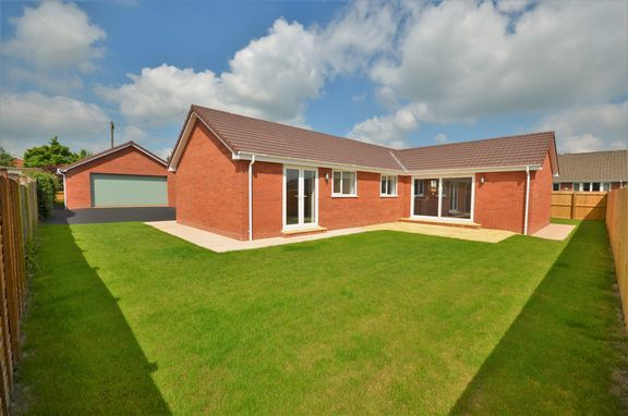 Thumbnail Detached bungalow for sale in Isabella Road, Tiverton