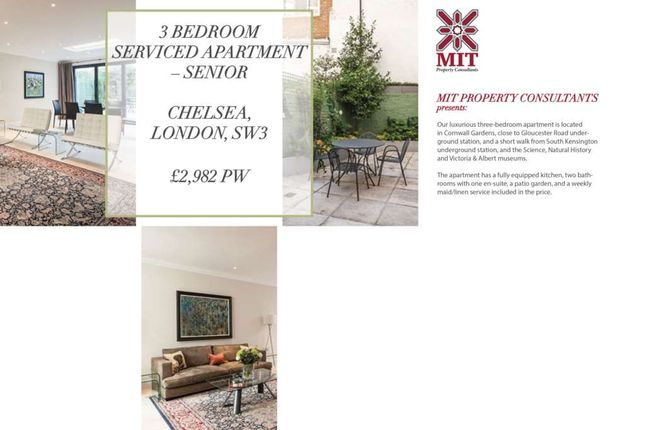 Thumbnail Flat to rent in Rutland Court, Rutland Gardens, London