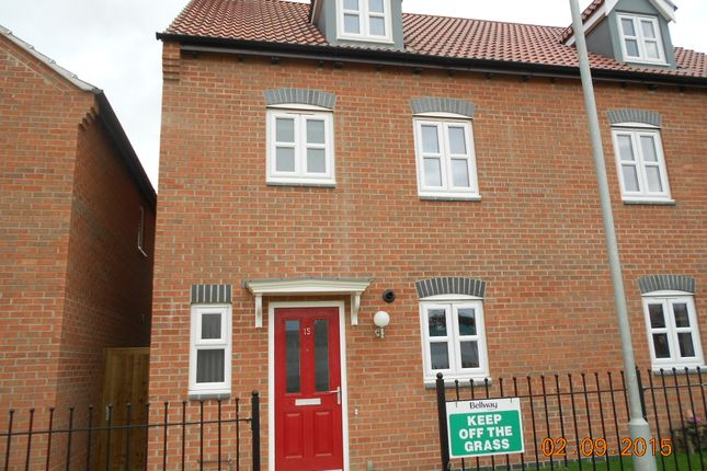 Thumbnail Semi-detached house to rent in Maresfield Road, Barleythorpe, Oakham
