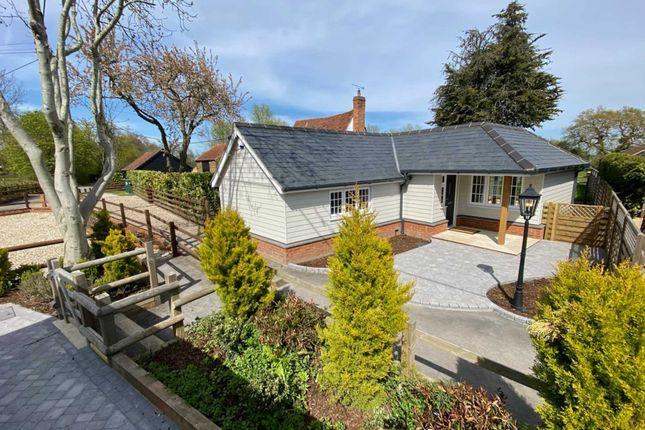 Thumbnail Detached bungalow for sale in Hulletts Lane, Pilgrims Hatch