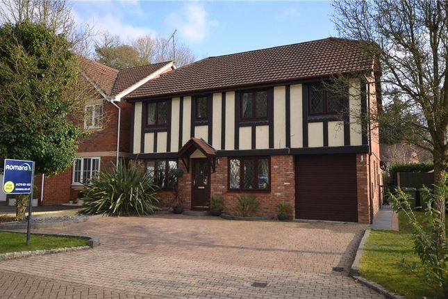 Thumbnail Detached house for sale in Buttermere Drive, Camberley, Surrey