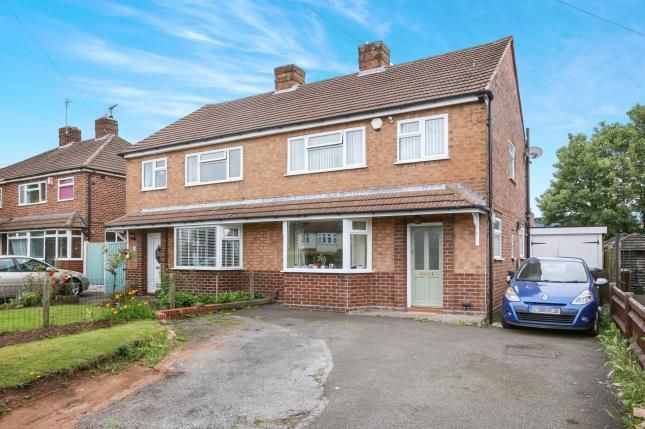 Thumbnail Semi-detached house for sale in Lawnswood Avenue, Tettenhall, Wolverhampton, West Midlands