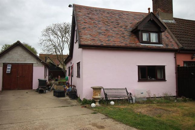 Thumbnail Semi-detached house for sale in Old Norwich Road, Yaxley, Eye