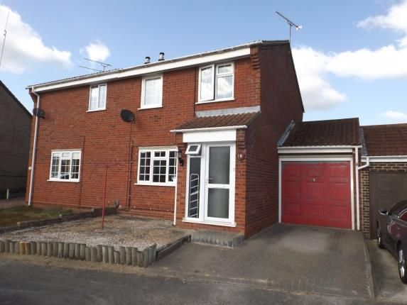 Thumbnail Semi-detached house for sale in Ipswich, Suffolk
