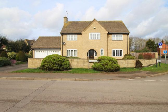 Thumbnail Detached house to rent in Wood Road, Kings Cliffe, Peterborough