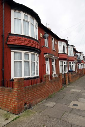 Thumbnail End terrace house to rent in Corder Road, Middlesbrough