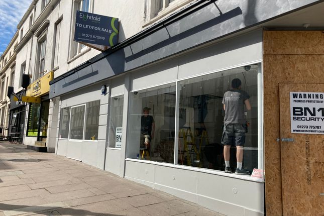 Thumbnail Retail premises to let in Queens Road, Brighton