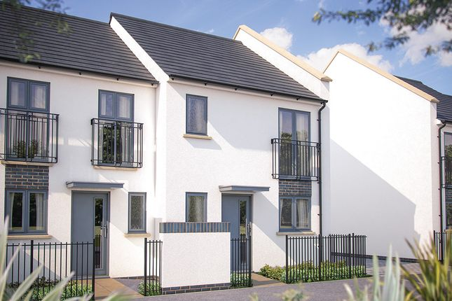 "Thumbnail Terraced house for sale in ""The Southwold"" at Oak Leaze, Patchway, Bristol"