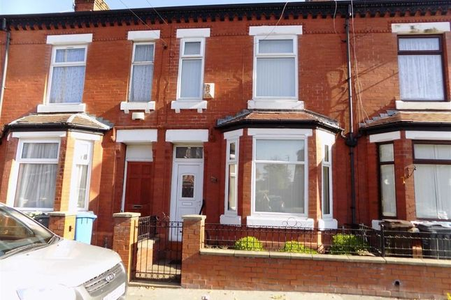 Thumbnail Terraced house to rent in Levenshulme Road, Manchester