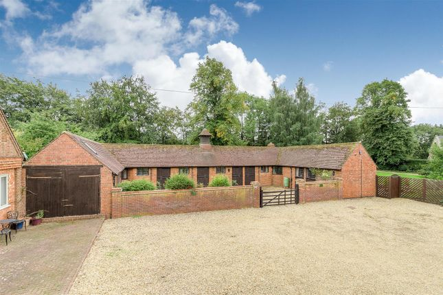 Thumbnail Detached bungalow for sale in Manor Stables, Winwick, Northampton