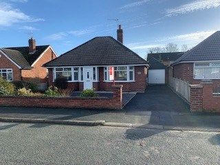 Thumbnail Bungalow for sale in Hollybush Crescent, Willaston, Nantwich, Cheshire