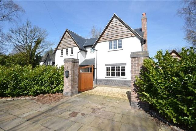 Thumbnail Detached house for sale in Hale Road, Hale Village, Liverpool