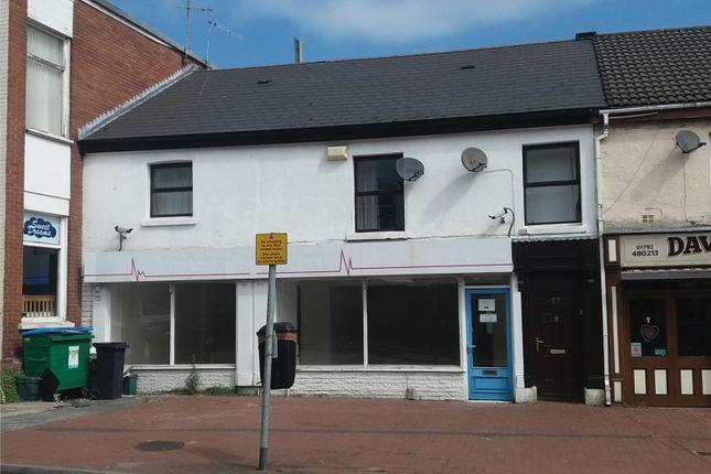 Thumbnail Office to let in 53 / 54, New Road, Skewen, Swansea