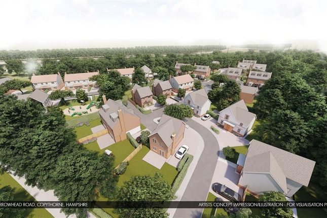Thumbnail Land for sale in Barrow Hill Road, Copythorne, Southampton