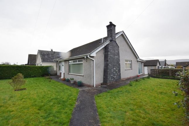 Thumbnail Detached bungalow for sale in Marsh Garth, Kirkby-In-Furness