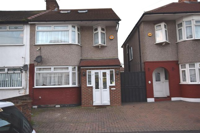 Thumbnail End terrace house for sale in Somerville Road, Chadwell Heath, Romford