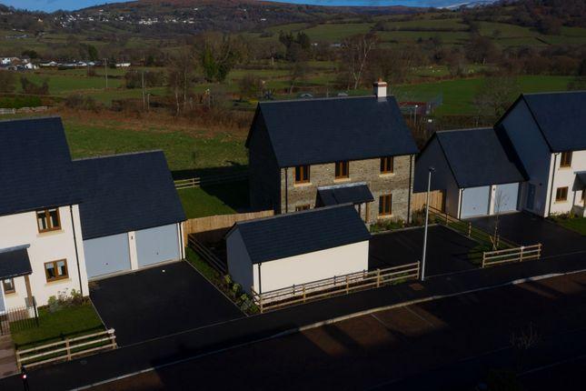 Thumbnail Detached house for sale in Castle Road, Llangynidr, Crickhowell