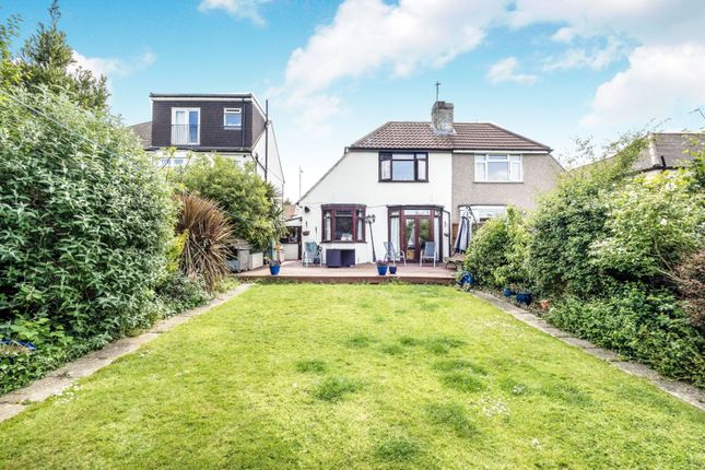 Thumbnail Semi-detached bungalow for sale in Clayhall Avenue, Ilford