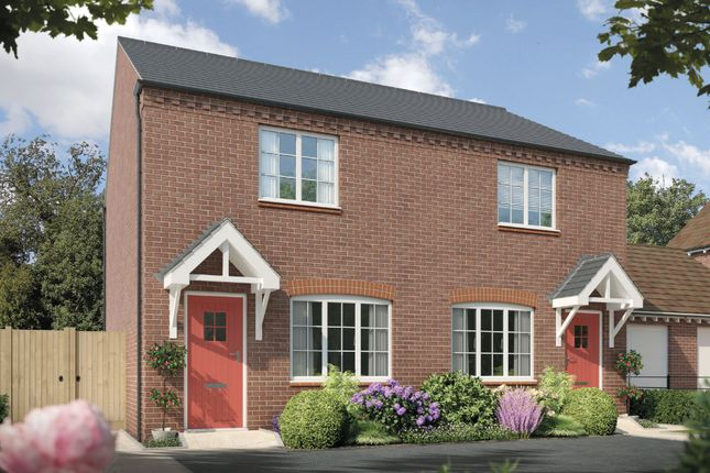 Thumbnail Town house for sale in Fulford Hall Road, Tidbury Green, Solihull