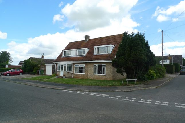 Thumbnail Detached bungalow for sale in Charles Close, Acle, Norwich