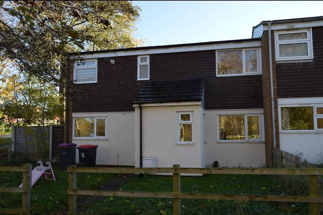 Thumbnail End terrace house to rent in Sunnymead, Sutton Hill, Telford